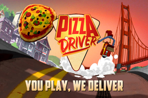 Pizza Driver, le nouvel Advergame mêlant réel et virtuel