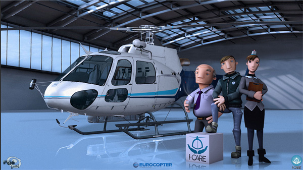 Le Serious Game I-Care d'Eurocopter : Attention à ne pas se bruler les ailes !