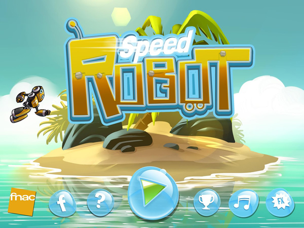 Advergaming : La Fnac développe Speed Robot sur supports mobiles