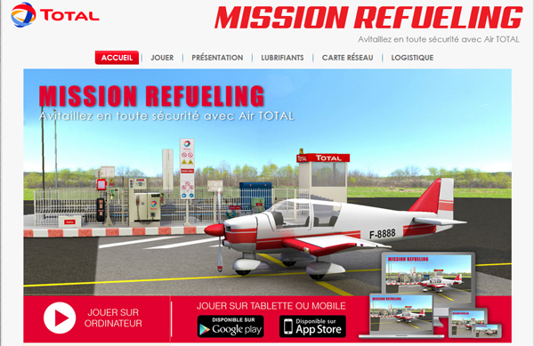 Le Serious Game prend son envol avec Mission Refueling